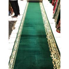 karpet mushola grosir warna hijau SUPER MOSQUE