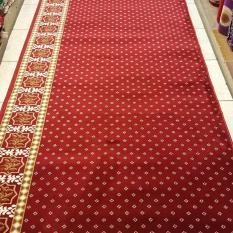 karpet musholla pabrik meteran warna merah BLUE MOSQUE