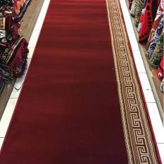 karpet musola polos meteran warna merah PLATINUM MOSQUE