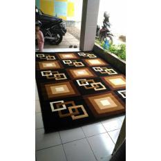 Karpet Permadani MODERNO 160X210CM - BLACK 276