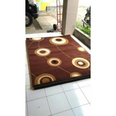 Karpet Permadani MODERNO 160X210CM - DK.BROWN 795