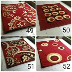 Harga Karpet Permadani Moderno 160X210Cm Motif M Karpet Baru