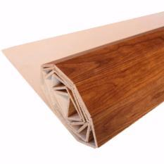 Harga Karpet Plywood 182Cm X 245Cm Coklat Muda Wood Carpet Karpet Kayu Gulung Lampit Kayu Flooring Kayu Parket Lantai Kayu Karpet Anti Alergi Karpet Modern Tikar Kayu Lampit Kalimantan Original