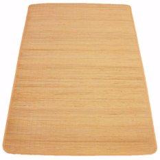 Karpet Rotan/Tikar Lampit Asal Kalimantan 100cm x 200cm - Kuning