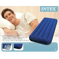 Beli Kasur Angin Lock Classic Downy Air Bed 1 91 X 76Cmx22Cm Intex 68950 Online Murah