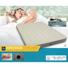 Harga Kasur Angin Full High Bed Dura Beam With Fiber Tech Intex 64709 Queen Intex Original