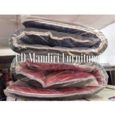 Kasur Busa Lipat 100x180cm Plus Bantal Uniland Kain Kualitas Tinggi
