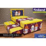 Toko Kasur Finiland 2In1 Toy City Spring Bed Anak 100X200 Fullset Jabodetabek Only Lengkap Di Dki Jakarta