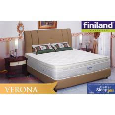 Diskon Kasur Finiland Verona Spring Bed Plush Top Bonnel 160X200 Mattress Only Jabodetabek Only Akhir Tahun