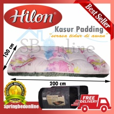 Kasur Lipat Gulung Padding Full Dakron Praktis Traveling Mattress By Hilon