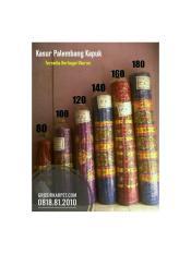 Kasur Palembang Kapuk King Size 180 | Grosir Kasur Palembang Murah