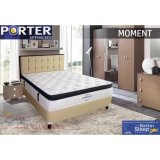 Harga Kasur Porter Moment Plush Top Latex Pocketed Spring Bed Mattress Only 180X200 Jabodetabek Only Origin