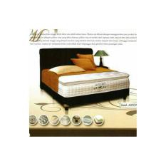 Kasur Spring Bed Alvaro Pocket Latex Uk 100 Tangerang