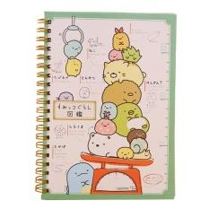 Kawaii Jepang Kartun Lucu Hewan Coil Notebook/Agenda Harian/Buku Saku/Kantor Perlengkapan Sekolah (Keadilan) -Intl
