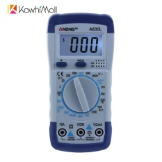 KawhiMall Portable Digital Multimeter Avometer AC/DC Voltage Current Circuit Tester-Intl