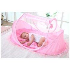 Kelambu Bayi 4in1 (Kelambu Kasur Bantal Musik) Anti Nyamuk 4 in 1 Baby Mosquito Net Nets