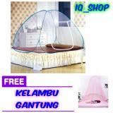 Jual Kelambu Tenda Lipat Praktis 200X180 Cm Random Free Kelambu Gantung Baru