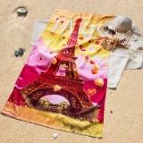 Beli Kendra Handuk Pantai I Love Paris Kendra Asli