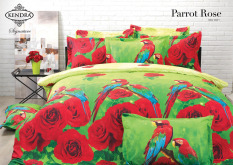 Review Toko Kendra Signature Seprei Set Parrot Rose