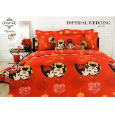 Kendra Signature Sprei Set Imperial Wedding Queen Size 160X200 Terbaru