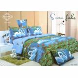 Review Kendra Signature Sprei Set Swan Lake King Size 180X200