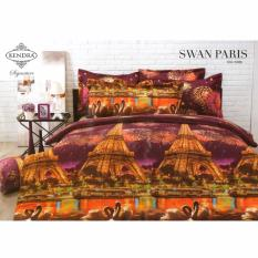 Jual Kendra Signature Sprei Set Swan Paris Single Size 120X200 Kendra Ori