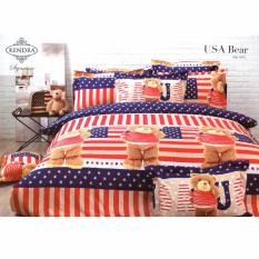 Ulasan Tentang Kendra Signature Sprei Set Usa Bear Single Size 120X200