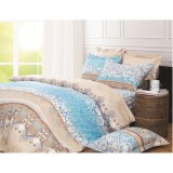 Toko Kendra Sprei Minimalis Louvre Uk 120 Single Size Bed Kendra Online