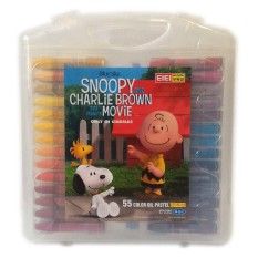 Beli Kenko Crayon Eiei Snoopy And Charlie Brown 55 W Nyicil