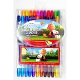 Diskon Kenko Twist Crayon Snoopy 24 Color