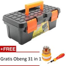 Kenmaster B250 - Tool Box Mini + Gratis Obeng 31 in 1
