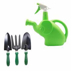 Promo Toko Kenmaster Garden Tool 3 Pcs Hitam Kenmaster Botol Sprayer Watering Can Xh 900 3