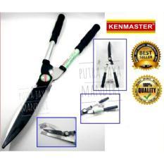 Kenmaster Gunting Pagar - Gunting Rumput 2 Tangan Gagang Besi By Putra Jaya Mandiri.