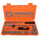 Spesifikasi Kenmaster Kunci Sok Set 54 Pcs Premium Professional Socket Wrench Lengkap