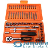 Jual Kenmaster Kunci Sok Set 60 Pcs Premium Professional Socket Wrench Grosir