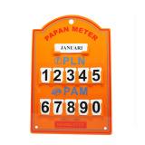 Harga Kenmaster Plastik Stand Meter Pln Orange Murah