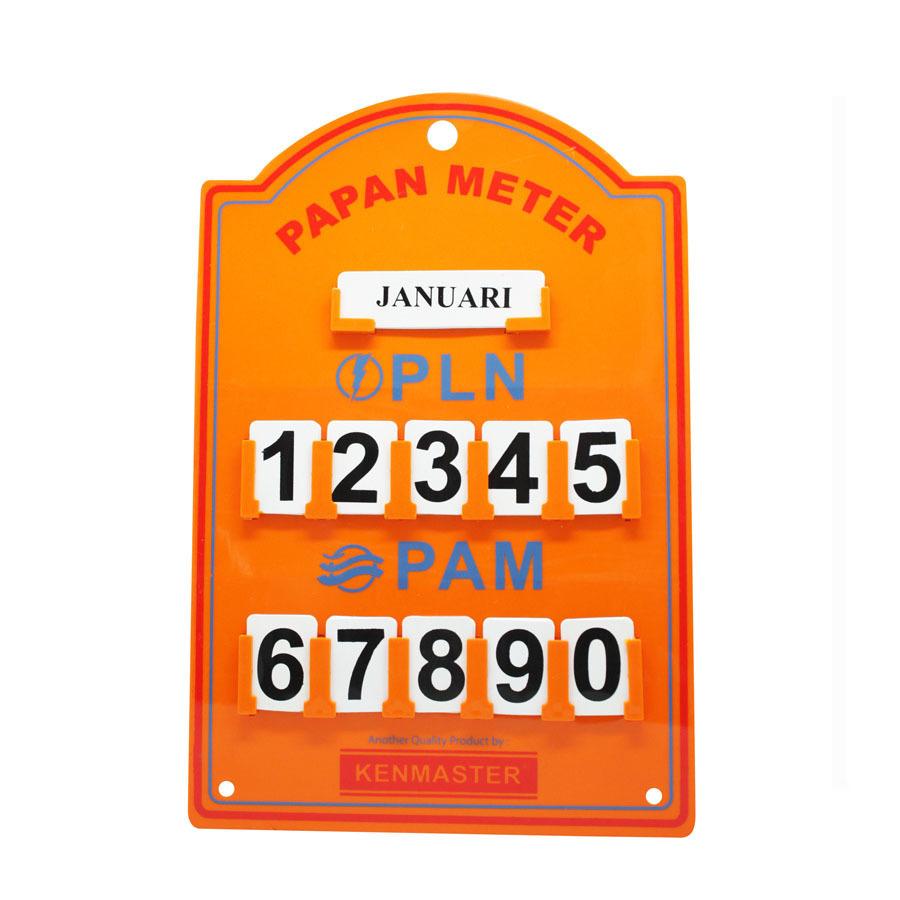 Kenmaster Plastik Stand Meter PLN Or