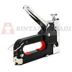 Kenmaster Stapler Gun Tangan Multifungsi 4 - 14 Mm Hitam Heavy Duty