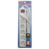 Toko Kenmaster Stop Kontak F1 6Lb Kabel 4 Meter Putih Online