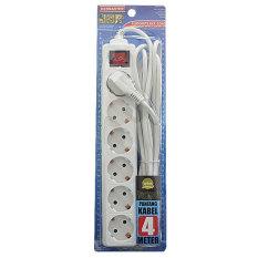Tips Beli Kenmaster Stop Kontak F1 6Lb Kabel 4 Meter Putih Yang Bagus