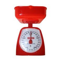Ulasan Lengkap Tentang Kenmaster Timbangan Kue 5 Kg Red