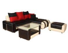 Katalog Kenso Sofa L Vermont Dengan Meja Terbaru
