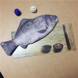 Model Tempat Pensil Miniatur Ikan Tas Alat Tulis Karakter Ikan Mas Besar Ikan Pria Dan Wanita Terbaru