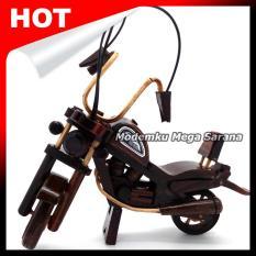 Kerajinan Jogja Miniatur Harley Davidson Kayu
