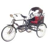 Toko Kerajinan Jogja Miniatur Sepeda Medan Pakai Atap 30X18X16 Cm Coklat Termurah