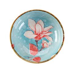 Keramik Yang Dilukis With Tangan Kecil Piring