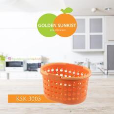 Keranjang Shampoo Kecil Plastik (KSK 3003) Golden Sunkist