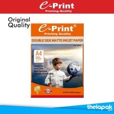 Jual Kertas Foto E Print Double Side Matte Inkjet Paper A4 220Gsm 50 Sheet Pp Mat 003 E Print Ori