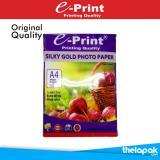 Situs Review Kertas Foto Kulit Jeruk E Print Silky Gold Photo Paper A4 260Gsm 20 Sheet Pp Spc 003
