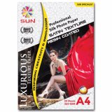 Review Kertas Foto Sun Professional Silk Photo Paper 265 A4 Satin Texture Sun Di Jawa Timur
